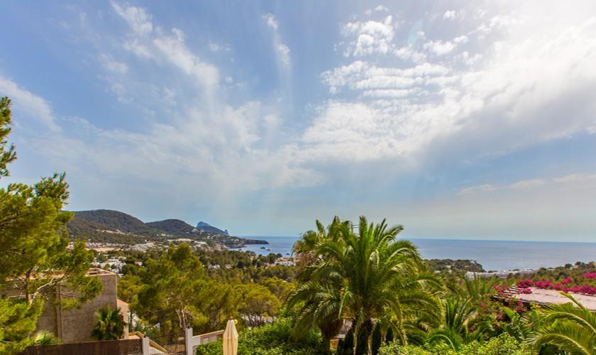 Meerblick Villa Ibiza Cala Tarida IBZ 17