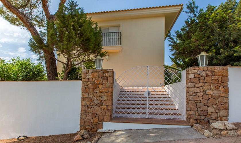 Front Villa Ibiza Cala Tarida IBZ 17