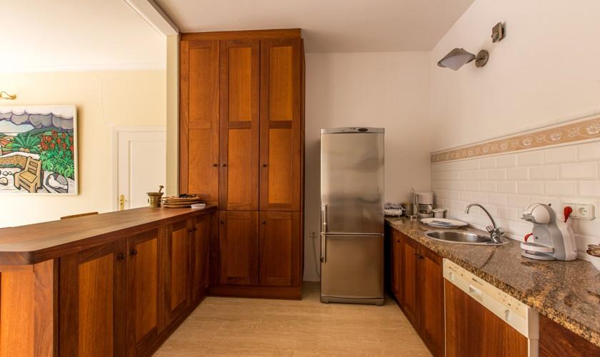 Küche Ferienhaus Ibiza IBZ 17