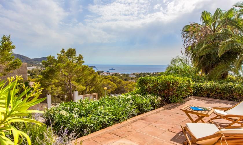 Meerblick Villa Ibiza für 4-5 Personen IBZ 17