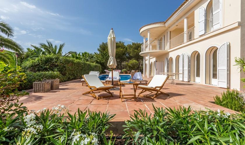 Terrasse Ferienhaus Ibiza IBZ 17