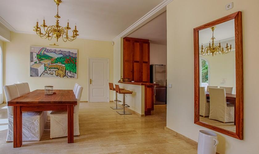 Wohnraum Ferienhaus Ibiza IBZ 17