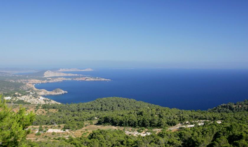 Meerblick von der Villa Ibiza Meerblick IBZ 19