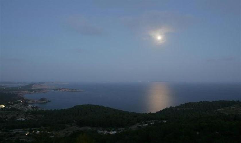 Meerblick abends Villa Ibiza IBZ 19