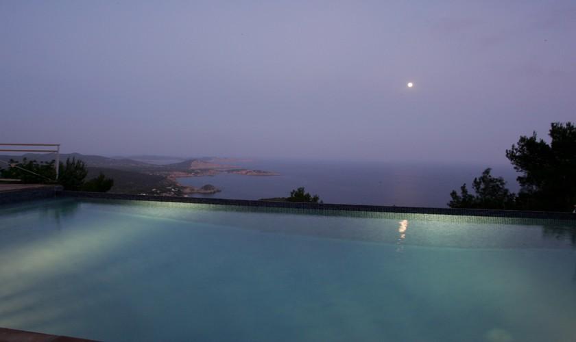 Meerblick von der Villa Ibiza IBZ 19