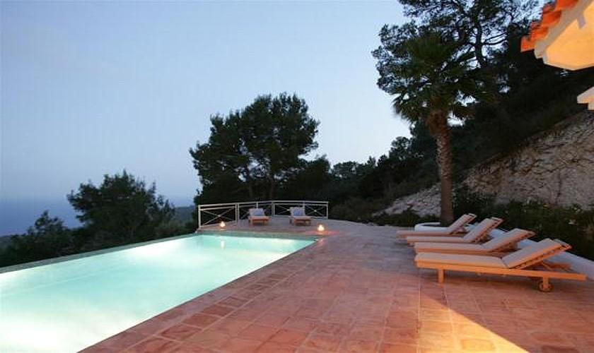 Pool und Meerblick Villa Ibiza IBZ 19