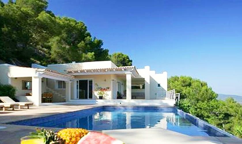 Pool und Villa Ibiza IBZ 19