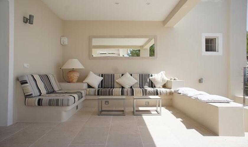 Wohnraum Terrasse Villa Ibiza IBZ 19
