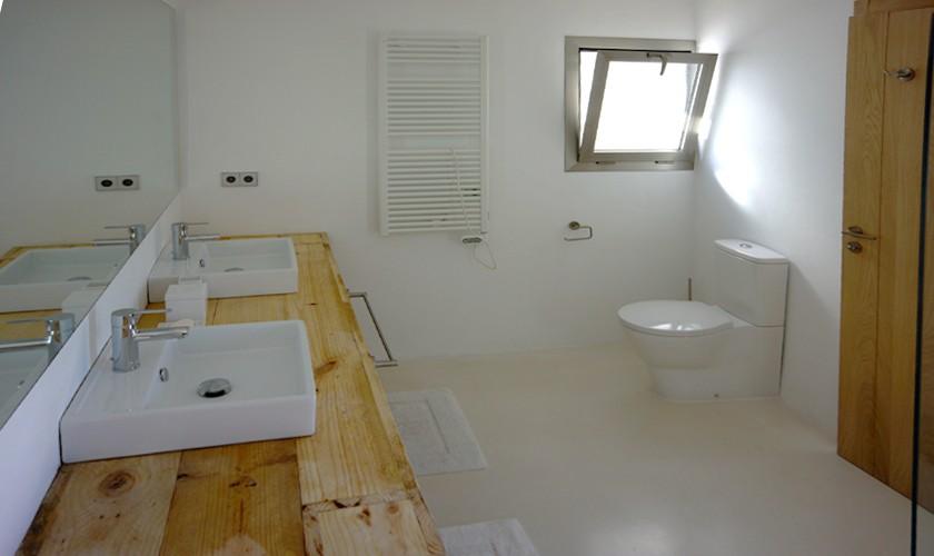 Badezimmer Ferienvilla Ibiza Meerblick IBZ 20