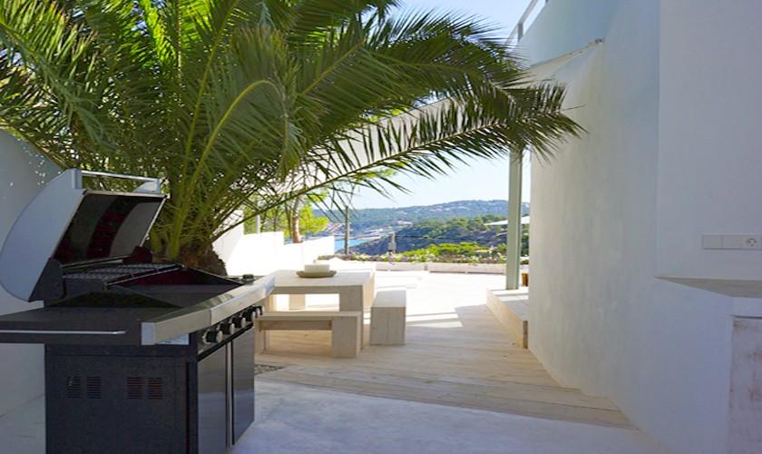 Barbecue Villa Ibiza für 12 - 13 Personen IBZ 20