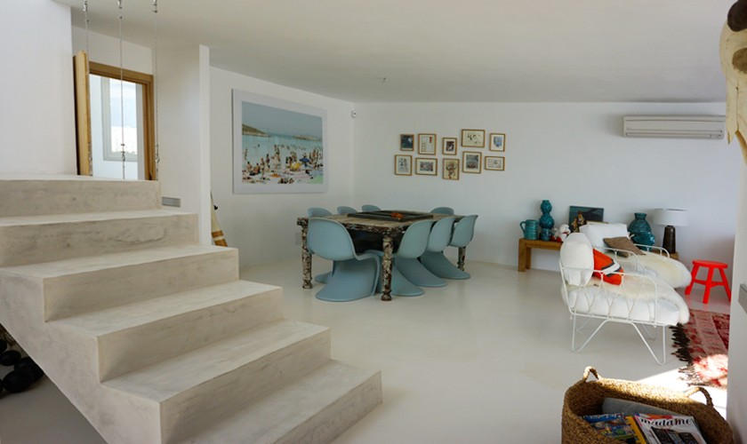 Treppe Luxusvilla Ibiza für 12 - 13 Personen IBZ 20