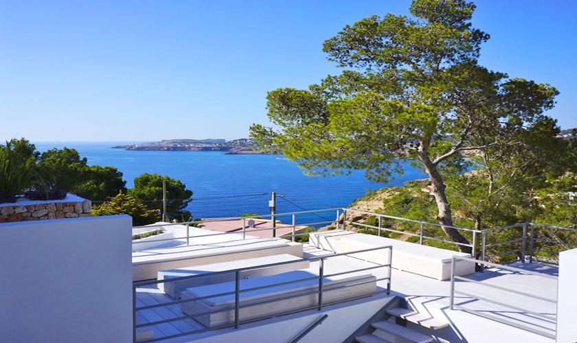 Terrasse und Meerblick Villa Ibiza IBZ 20