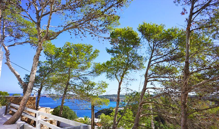 Meerblick Villa Ibiza für 12 - 13 Personen IBZ 20