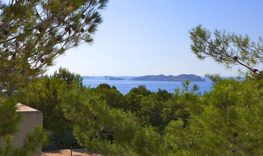 Terasse Luxusvilla Ibiza für 12 - 13 Personen IBZ 20