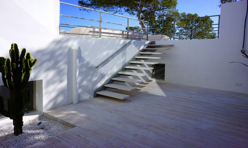 Patio Ferienvilla Ibiza Meerblick IBZ 20