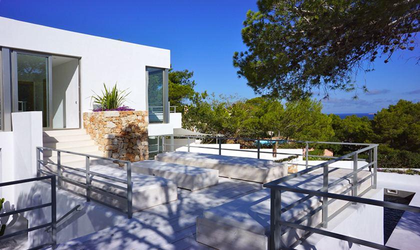 Terasse Villa Ibiza für 12 - 13 Personen IBZ 20