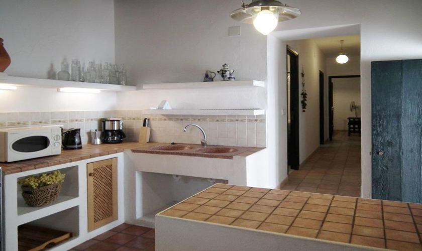 Küche Finca Ibiza IBZ 21