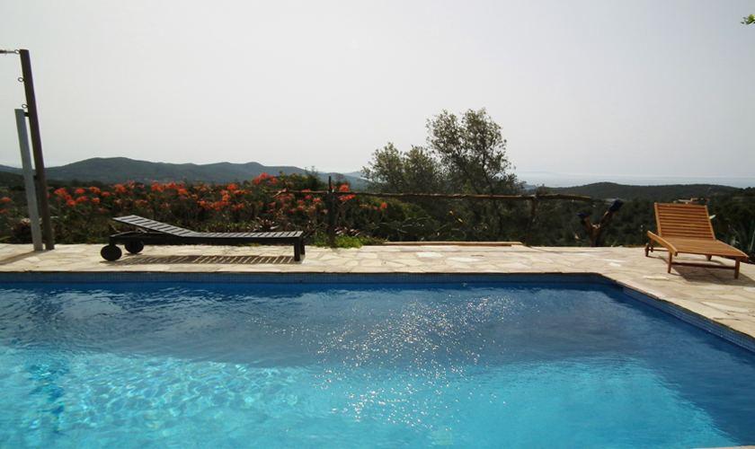 Poolblick Finca Ibiza IBZ 21