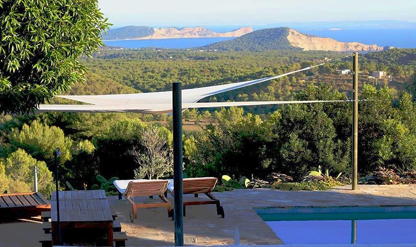 Pool und Meerblick Finca Ibiza IBZ 21