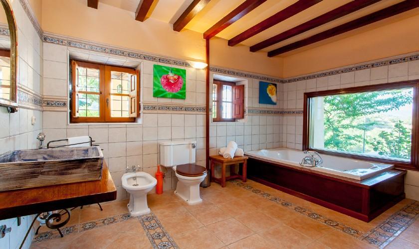 Badezimmer Ferienfinca Ibiza IBZ 22