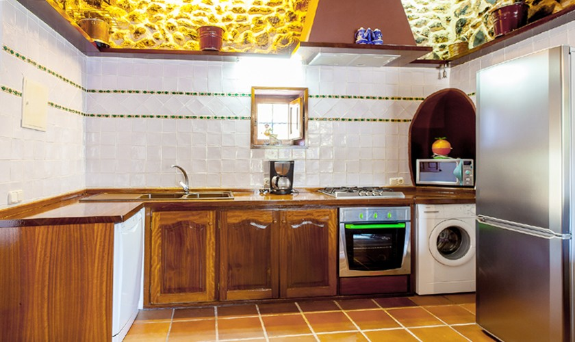 Küche Finca Ibiza Südwesten IBZ 22