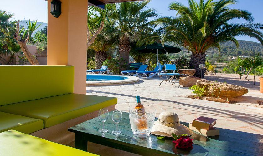 Terrasse Finca Ibiza IBZ 22