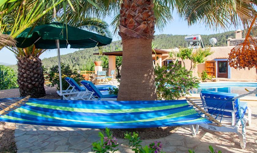 Terrasse Ferienfinca Ibiza IBZ 22