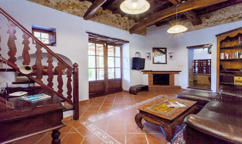 Wohnraum Finca Ibiza Südwesten IBZ 22
