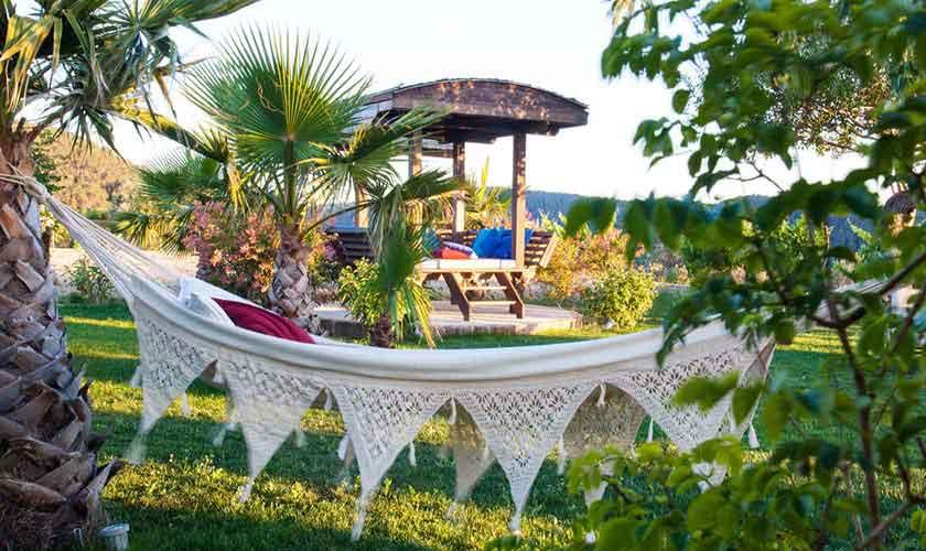 Garten Finca Ibiza für 8 Personen IBZ 23