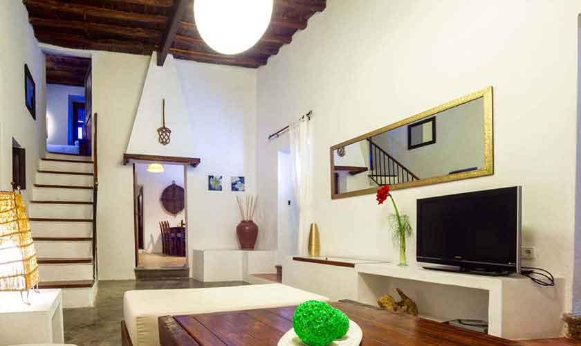 Wohnraum Finca Ibiza für 8 Personen IBZ 23