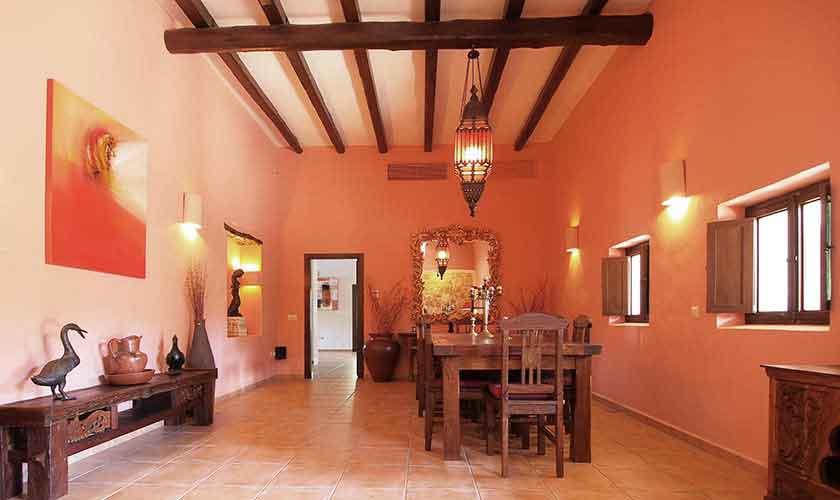 Essbereich Villa Ibiza 10 Personen IBZ 24