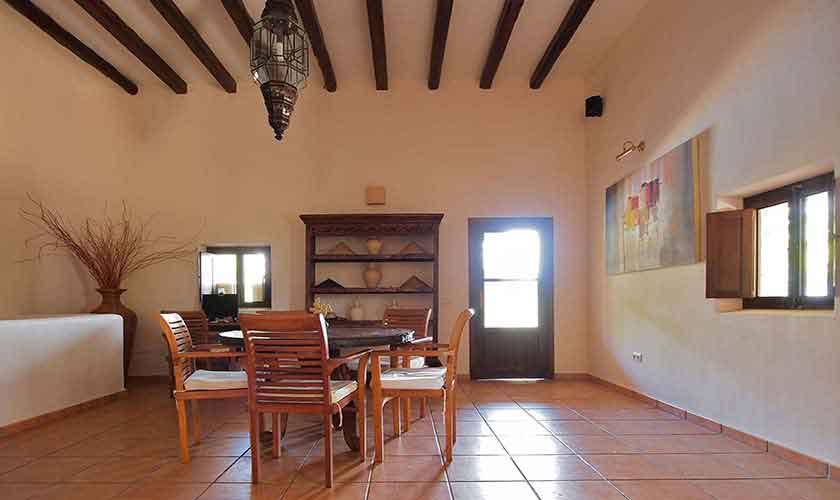 Wohnraum Villa Ibiza 10 Personen IBZ 24