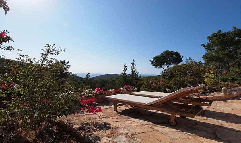 Liegen Pool-Villa Ibiza 10 Personen IBZ 24