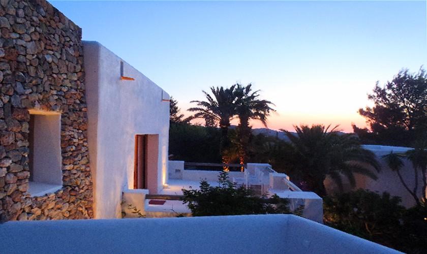 Blick auf die Finca Ibiza 10 Personen IBZ 25