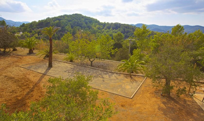 Landschaft Ferienfinca Ibiza 10 Personen IBZ 25