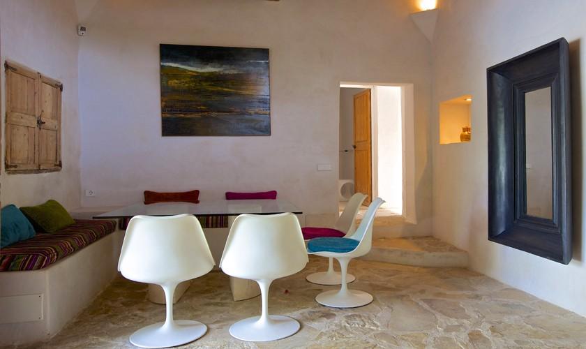 Essplatz Gästehaus Ferienvilla Ibiza 10 Personen IBZ 25