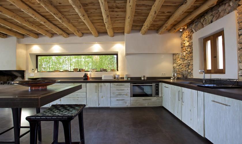 Küche Ferienvilla Ibiza 10 Personen IBZ 25