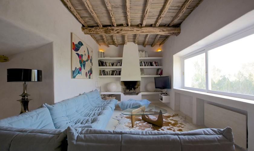Wohnraum Ferienvilla Ibiza 10 Personen IBZ 25