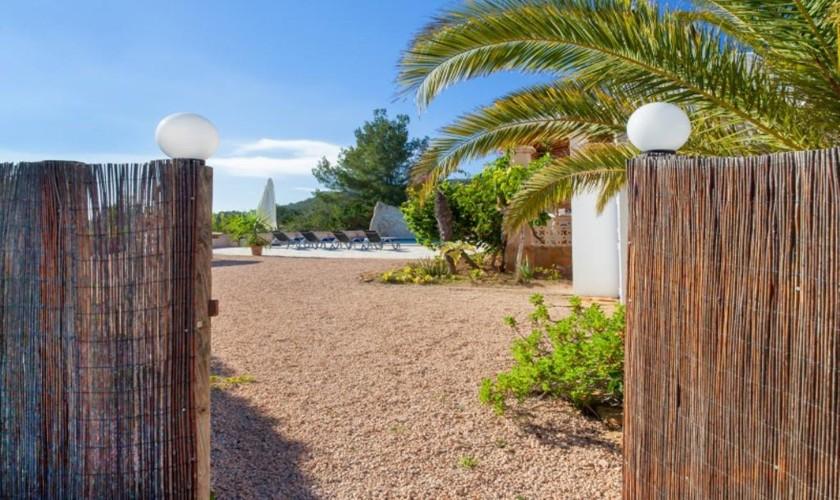 Eingang Ferienhaus Ibiza IBZ 27