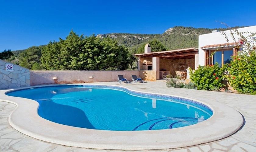 Pool und Ferienvilla Ibiza Süden IBZ 27