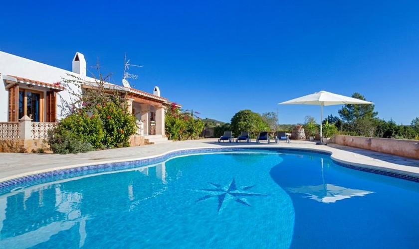 Pool und Ferienvilla Ibiza 6 Personen IBZ 27