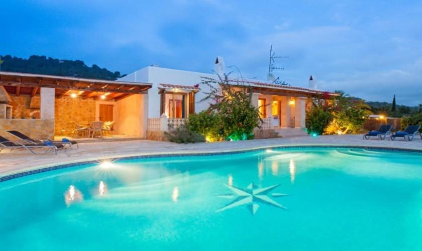 Pool und Villa Ibiza Süden IBZ 27