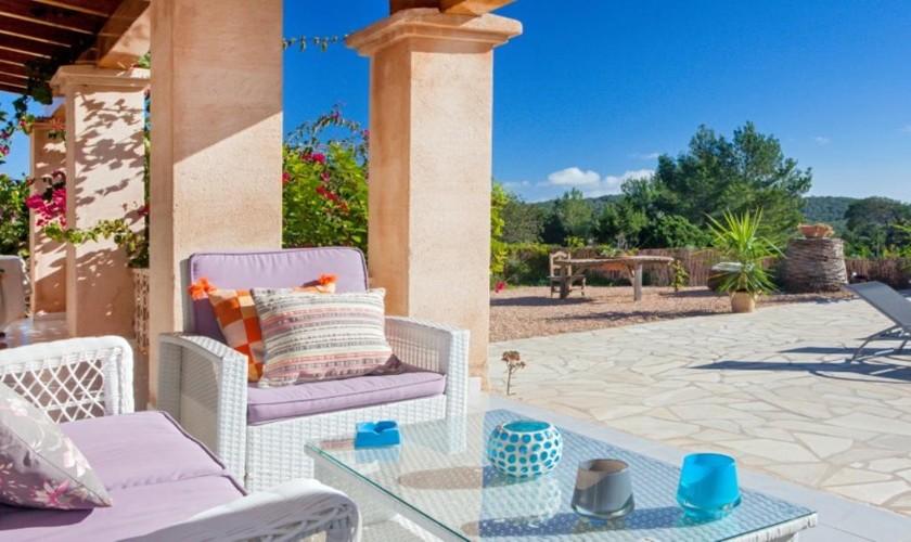 Terrasse Ferienvilla Ibiza IBZ 27