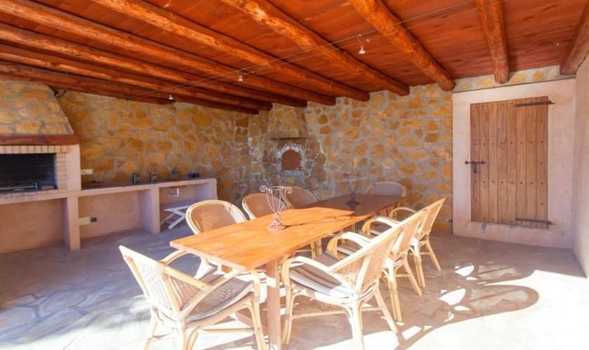 Terrasse Finca Ibiza IBZ 27