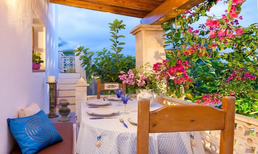 Terrasse Ferienhaus Ibiza IBZ 27