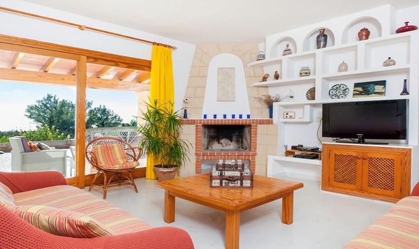 Wohnraum Ferienvilla Ibiza IBZ 27