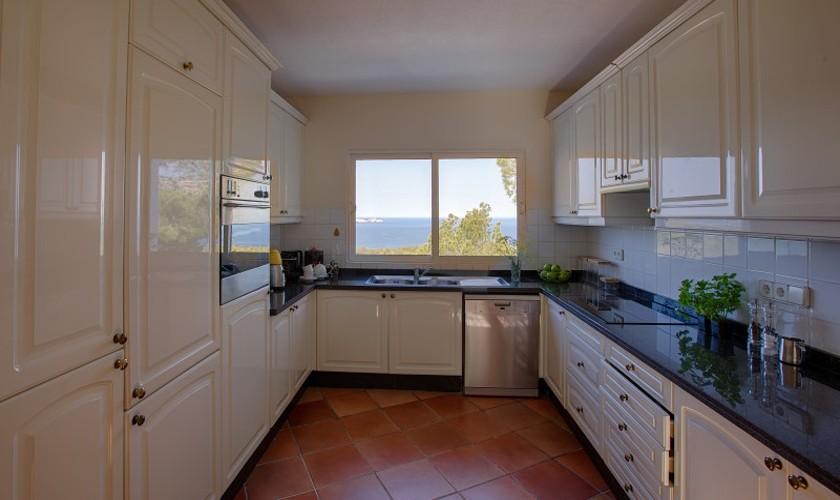 Küche Ferienvilla Ibiza 12 Personen IBZ 30