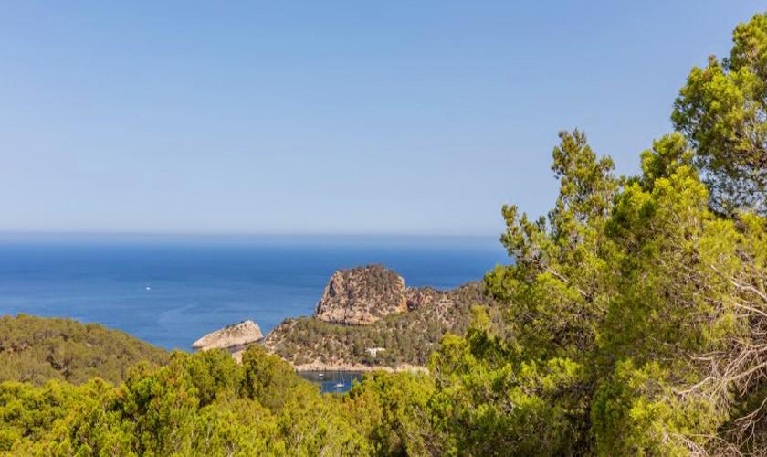 Meerblick Luxusvilla Ibiza 12 Personen IBZ 30