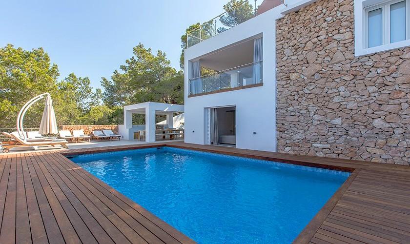 Pool und Luxusvilla Ibiza 12 Personen IBZ 30