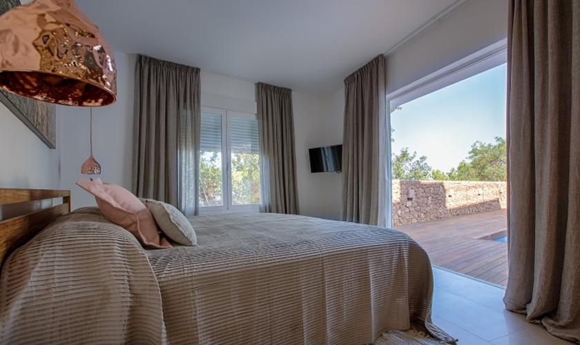 Schlafzimmer Ferienvilla Ibiza 12 Personen IBZ 30
